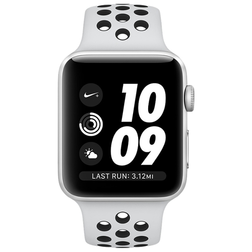 Часы Apple Watch Series 3 42mm Aluminum Case with Nike Sport Band