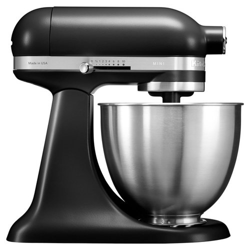 Миксер KitchenAid 5KSM3311XEBM, матовый черный kitchenaid миксер ручной серебристый 5khm9212ecu kitchenaid