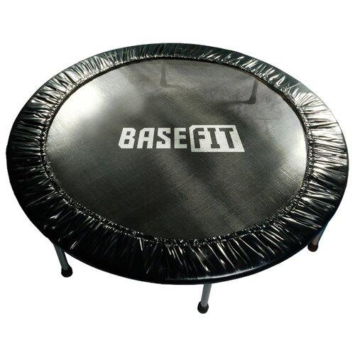 Каркасный батут BaseFit TR-101 137 см 137х137х25 см черный
