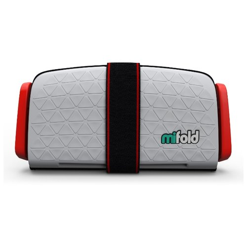 Бустер группа 3 (22-36 кг) Mifold The Grab and Go Booster, pearl grey