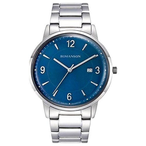 цена Наручные часы ROMANSON TM6A24MMW(BU) онлайн в 2017 году