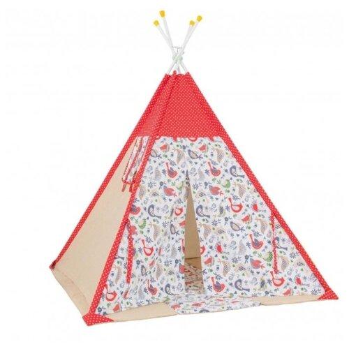 Купить Палатка Polini Кантри красный, Игровые домики и палатки