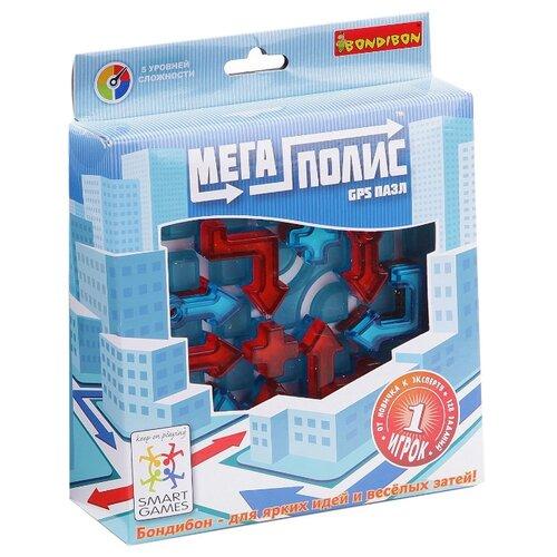 Купить Головоломка BONDIBON Smart Games Мегаполис GPS пазл (ВВ1056), Головоломки