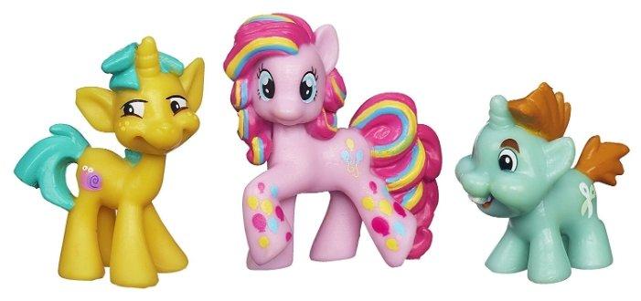 Фигурки Hasbro Pinkie Pie, Snipsy Snap и Snailsquirm A6688