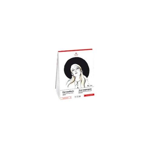 Купить Планшет для маркеров Лилия Холдинг Палаццо 29.7 х 21 см (A4), 75 г/м², 50 л., Альбомы для рисования