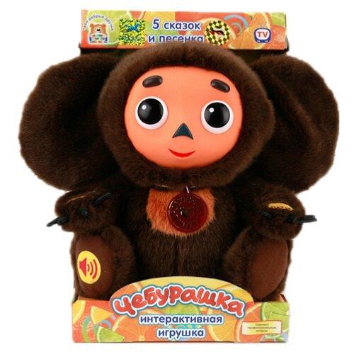 Мягкая игрушка Мульти-Пульти Чебурашка 5 сказок и песенка 25 см