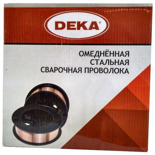 Проволока из металлического сплава Deka ER70S-6 0.8мм 1кг.