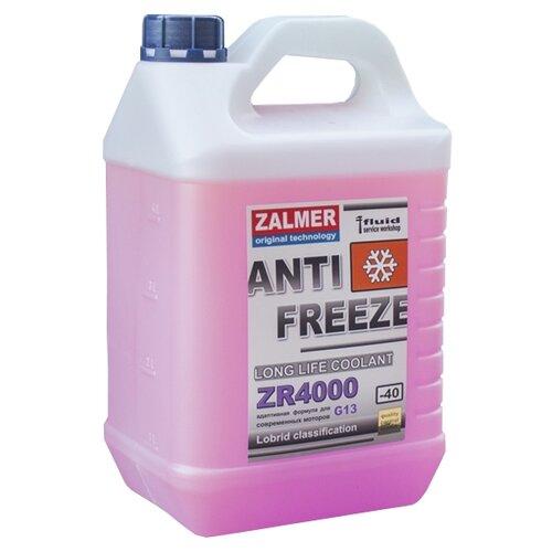 Антифриз Zalmer LLC ZR 4000 G13 (фиолетовый) 5 кг