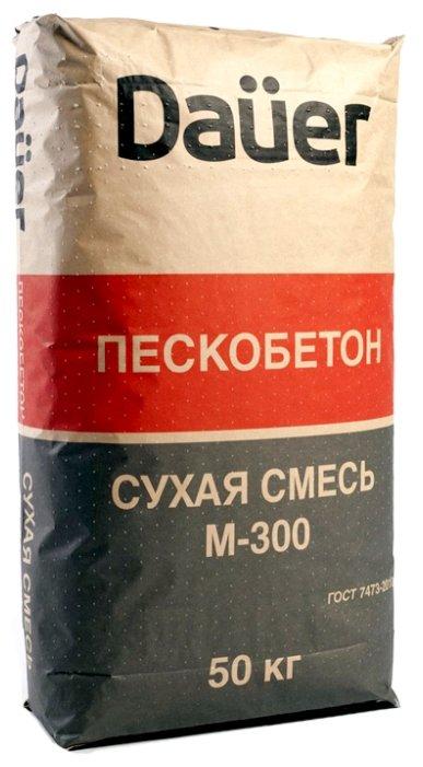 Пескобетон Dauer М300, 50 кг