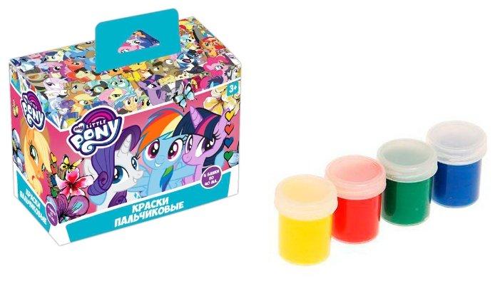 CENTRUM Пальчиковые краски My Little Pony 4 цвета х 40 мл (88478)