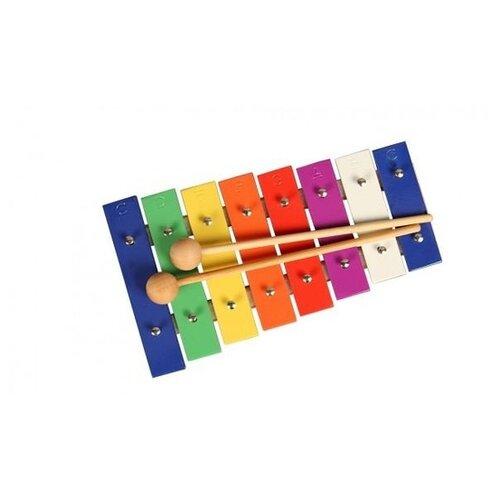 Купить Flight металлофон FM-8S разноцветный, Детские музыкальные инструменты
