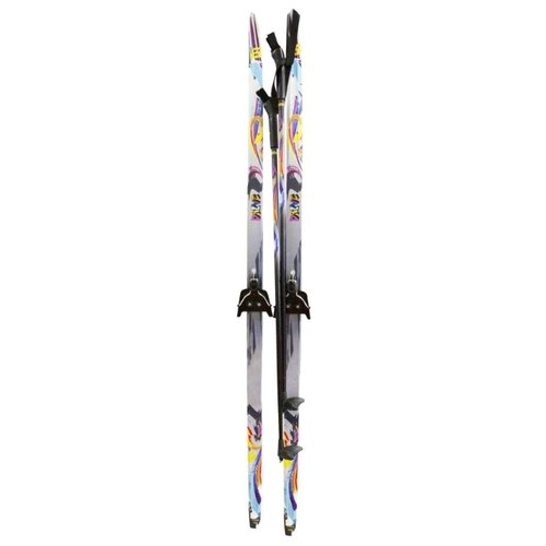Беговые лыжи ATEMI Drive Step 75 серый 140 см