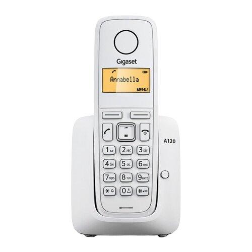 Радиотелефон Gigaset A120 белый