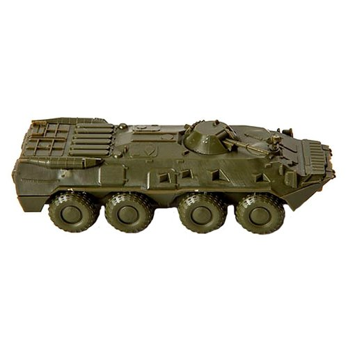 Фото - Сборная модель ZVEZDA Советский бронетранспортер БТР-80 (7401) 1:100 сборная модель звезда российский бронетранспортер бтр 80 1 35 zv 3558