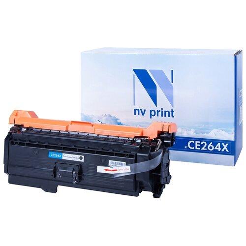 Фото - Картридж NV Print CE264X для HP, совместимый картридж nv print q7551x для hp совместимый