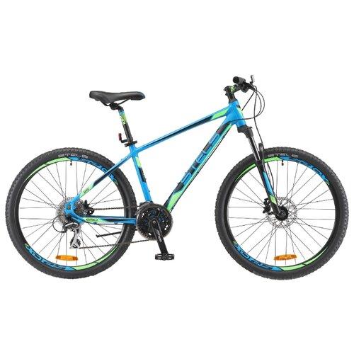 Горный (MTB) велосипед STELS Navigator 650 D 26 V010 (2018) синий 16 (требует финальной сборки) велосипед stels pilot 210 lady v010 2018