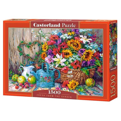 Купить Пазл Castorland Fresh From The Garden (C-151684), 1500 дет., Пазлы