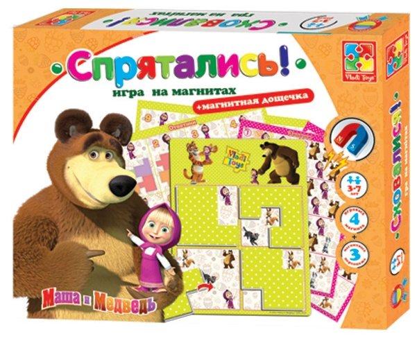 Настольная игра Vladi Toys Маша и медведь Спрятались VT3304-09