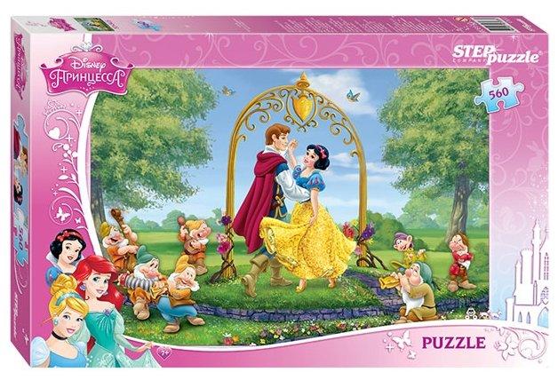 Пазл Step puzzle Disney Белоснежка (97033), 560 дет.