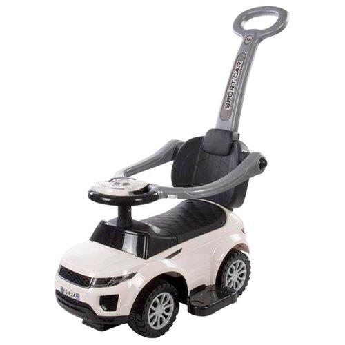 Купить Каталка-толокар Baby Care Sport Car (614W) со звуковыми эффектами белый, Каталки и качалки