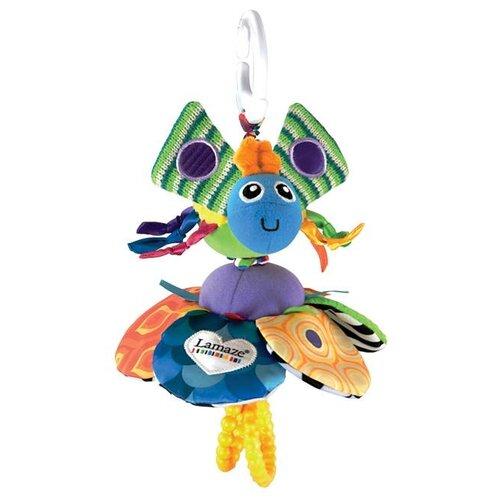 Купить Подвесная игрушка Lamaze Жучок (LC27029A) синий/зеленый, Подвески