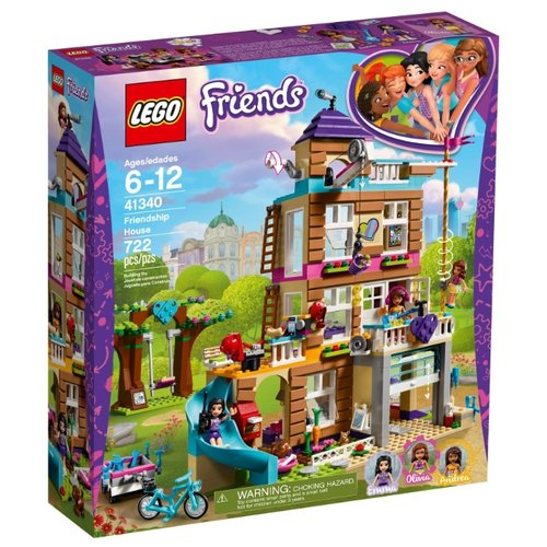 Конструктор LEGO Friends 41340 Дом ДружбыКонструкторы<br>