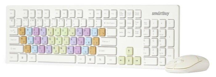 SmartBuy Клавиатура и мышь SmartBuy SBC-218346AG-W White USB