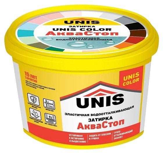 Затирка Unis Color АкваСтоп 2 кг