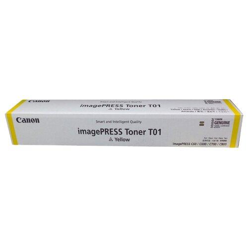 Фото - Картридж Canon T01 Y (8069B001) картридж canon t01 y 8069b001