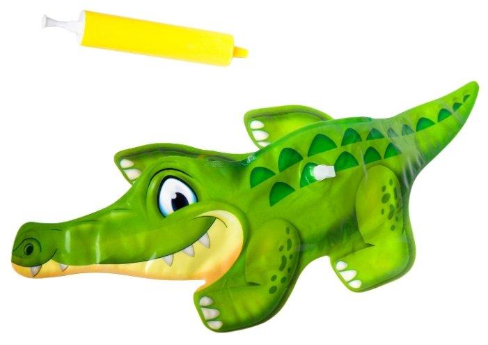 Надувная игрушка с инерционным механизмом BONDIBON Крокодил ВВ2562