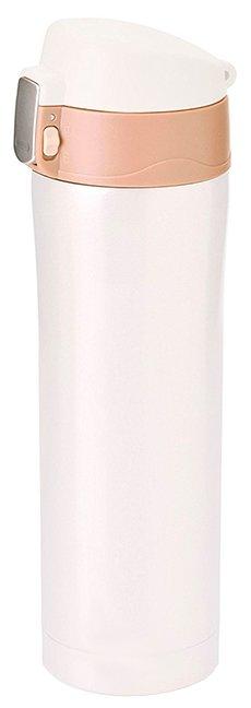 Термокружка 0.45 л Asobu Diva cup белая (V600 white-brown)