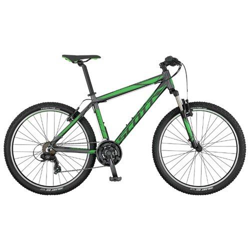 цена на Горный (MTB) велосипед Scott Aspect 680 (2017) черный/зеленый XL (требует финальной сборки)