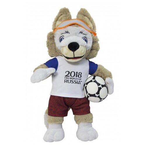 Купить Мягкая игрушка 1 TOY FIFA-2018 Волк Забивака 40 см, Мягкие игрушки