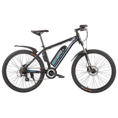 Электровелосипед Kupрer Unicorn Pro 250W черный (требует финальной сборки)