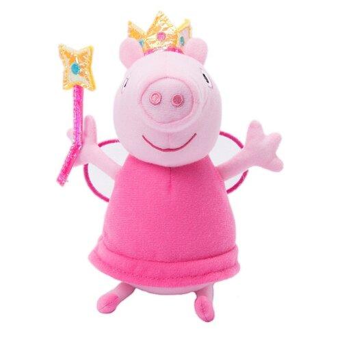 Купить Мягкая игрушка РОСМЭН Peppa pig Пеппа фея с палочкой 20 см, Мягкие игрушки