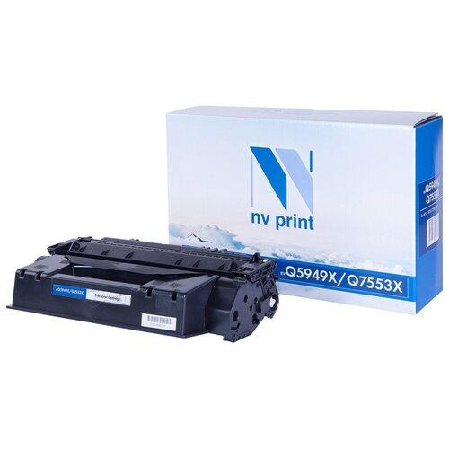 Фото - Картридж NV Print Q5949X/Q7553X для HP, совместимый картридж nv print q7581a для hp