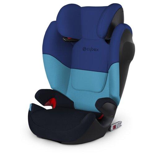 Автокресло группа 2/3 (15-36 кг) Cybex Solution M-Fix SL, Blue moon child car safety seat cybex solution m fix sl 2 3 15 36 kg 3 up to 12 years isofix chair baby car seat kidstravel group 2 3