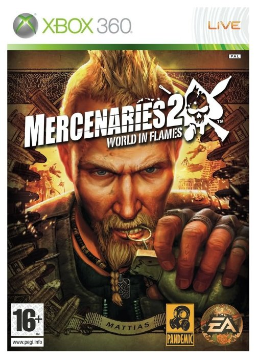 Electronic Arts Mercenaries 2: World in Flames