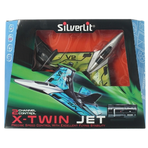Самолет Silverlit Power in Air X-Twin Jet (84743)