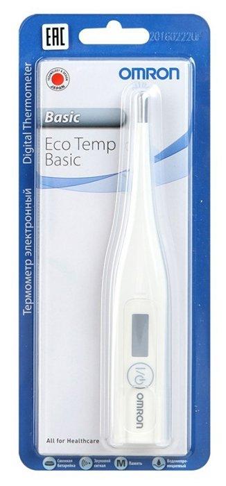 Термометр Omron Eco Temp Basic белый