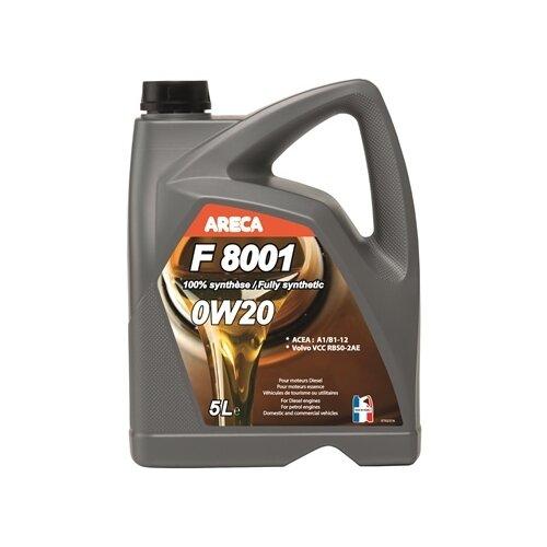 Синтетическое моторное масло Areca F8001 0W20, 5 л