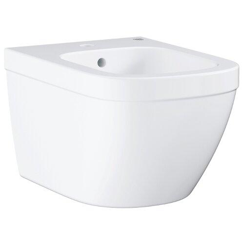 Фото - Биде подвесное Grohe Euro Ceramic 39208000 с горизонтальным выпуском подвесное биде grohe euro ceramic альпин белый 39208000