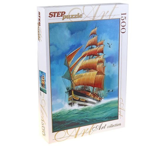 Пазл Step puzzle Art Collection Парусник (83047), 1500 дет.