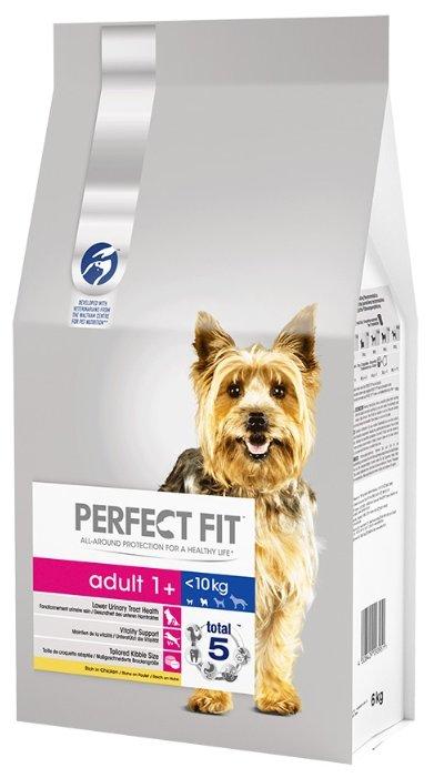 Perfect Fit (6 кг) Сухой корм для собак мелких и миниатюрных пород с курицей