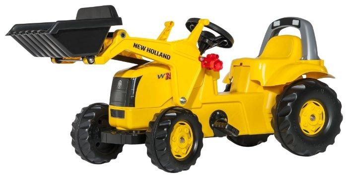 Веломобиль Rolly Toys Rollykid New Holland Construct (025053)