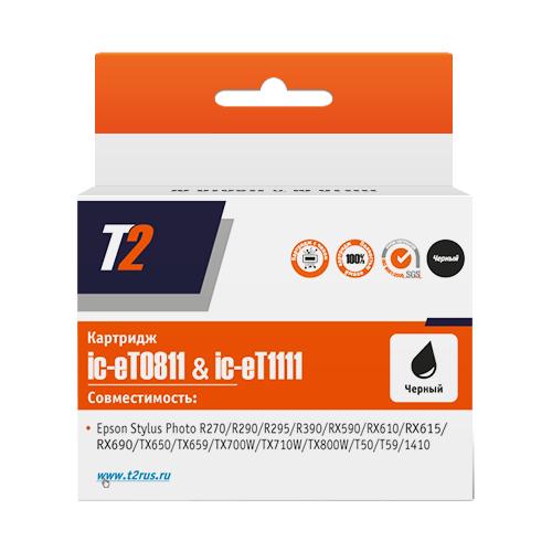 Картридж T2 IC-ET0811/IC-ET1111, совместимый картридж t2 cb324he 178xl ic h324