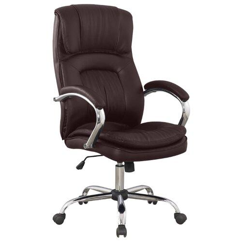 Компьютерное кресло College BX-3001-1 для руководителя, обивка: искусственная кожа, цвет: коричневый