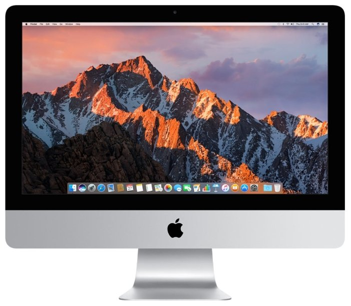Моноблок APPLE iMac MNDY2RU/A (Intel Core i5 3.0 GHz/8192Mb/1000Gb/Radeon Pro 555 2048Mb/Wi-Fi/Bluetooth/Cam/21.5/4096x2304/macOS Sierra)