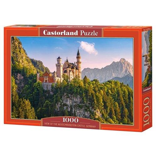 Купить Пазл Castorland View of the Neuschwanstein Castle, Germany (C-103706), 1000 дет., Пазлы