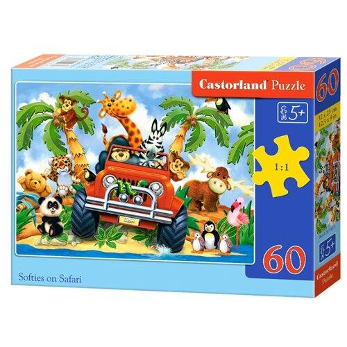 Купить Пазл Castorland Softies on Safari (B-06793), 60 дет., Пазлы